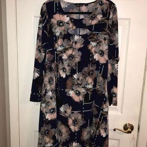 Nina Leonard sz 1x floral dress